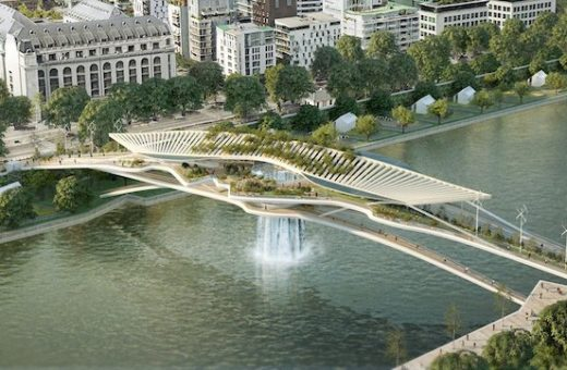 The Babylon Bridge, a new project for Paris