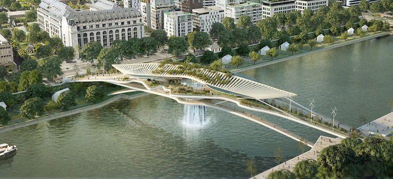 The Babylon Bridge, a new project for Paris