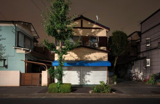 The Japanese suburbs in Alessandro Zanoni's photos