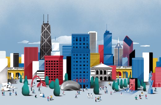 I paesaggi urbani disegnati da Borja Bonaque