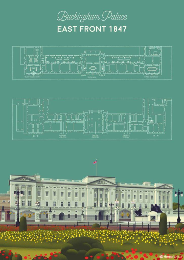 Alla Scoperta Di Buckingham Palace Con Homeadvisor Collater Al