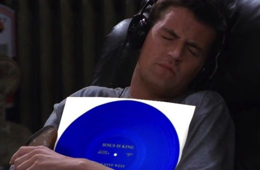 Chandler holding ur fav albums, the Instagram profile