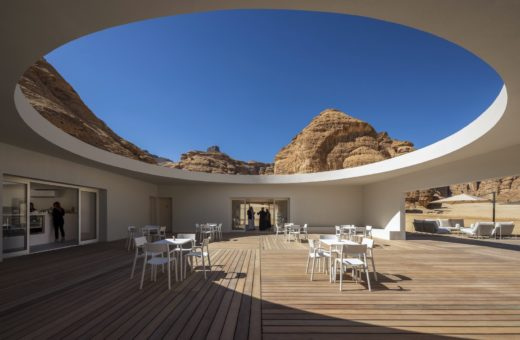 Desert X Al Ula Visitor Centre, an oasis in the desert