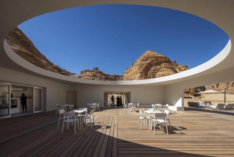 Desert X Al Ula Visitor Centre, an oasis in the desert