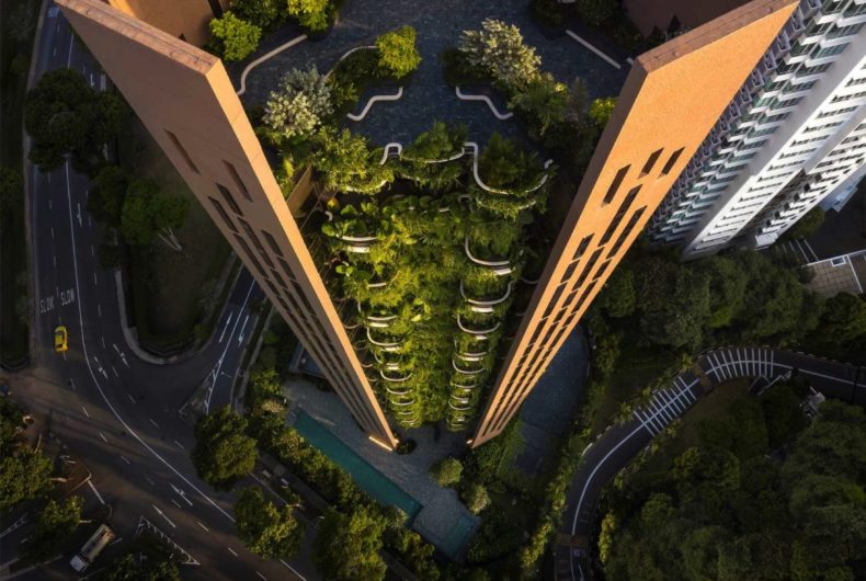 Eden, a vertical garden for Singapore