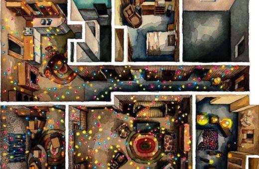 Floor Plan Croissant, le case dei film