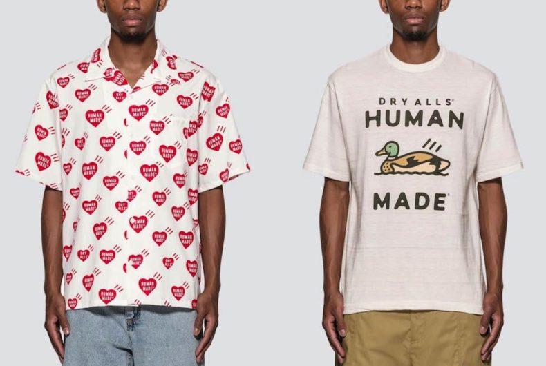 HUMANE MADE ha rilasciato una serie di Aloha shirt e T-shirt