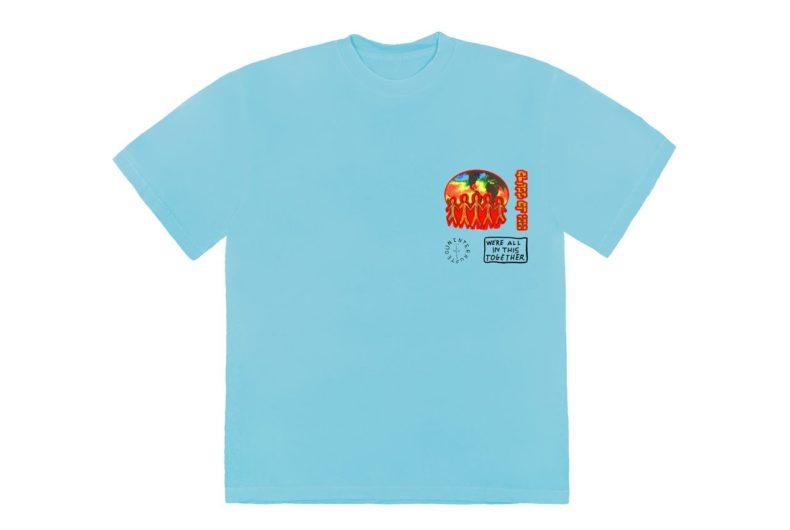 La T-shirt Cactus Jack di Travis Scott e LeBron James