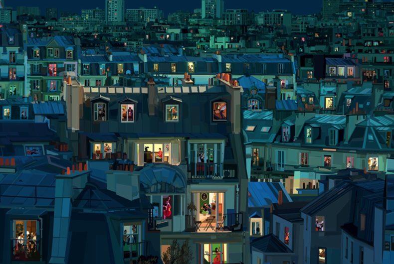 Pierpaolo Rovero illustra il mondo chiuso in casa