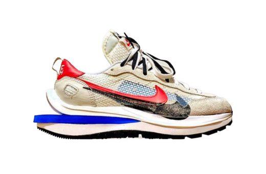 "sacai x Nike Vaporwaffle ""Game Royal/Sport Fuchsia"""