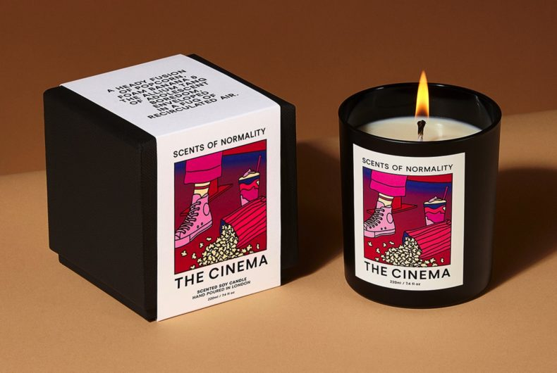 Scents of Normality, the candles that smell like the places we miss