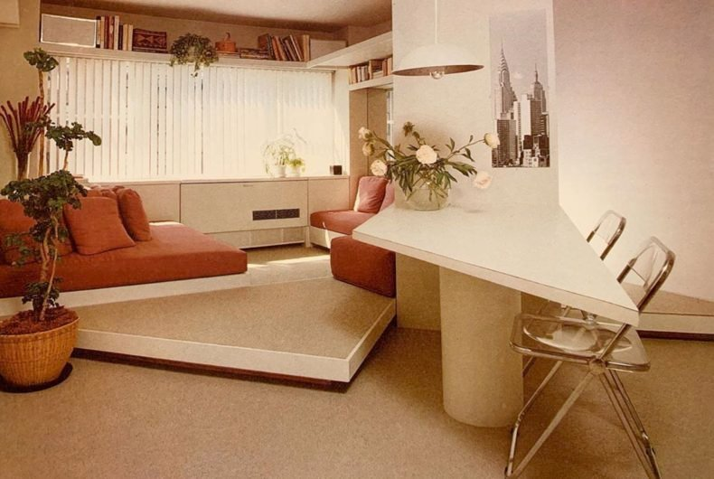 The 80s Interior, the Instagram profile for the nostalgic of the 80s