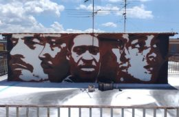 Jorit pays homage to George Floyd with a mural in Naples