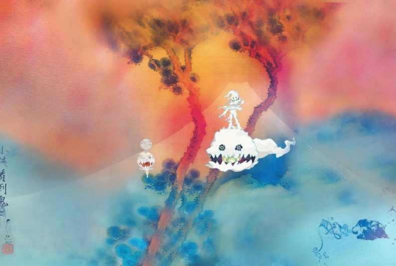 Kids See Ghosts the animated series by Takashi Murakami