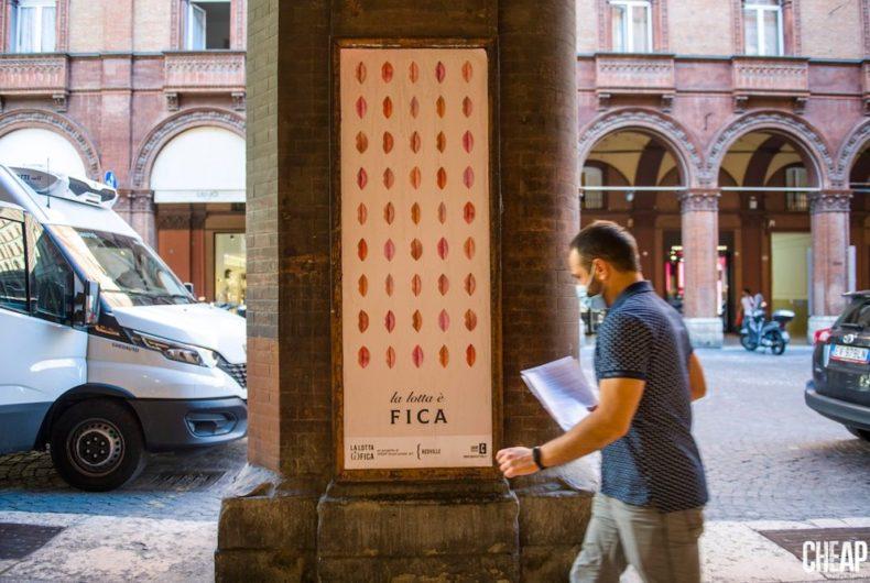 """""""La lotta è FICA"""", CHEAP's public art project"""