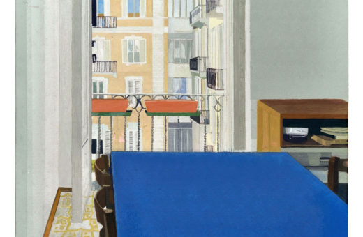 Italy illustrated in Clara Rubin's paintings