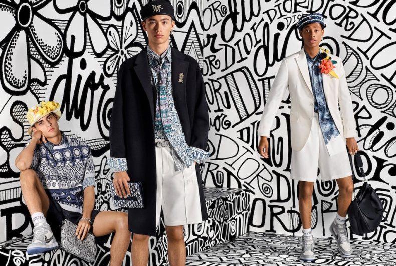 La campagna di Dior per la collezione uomo Fall 2020