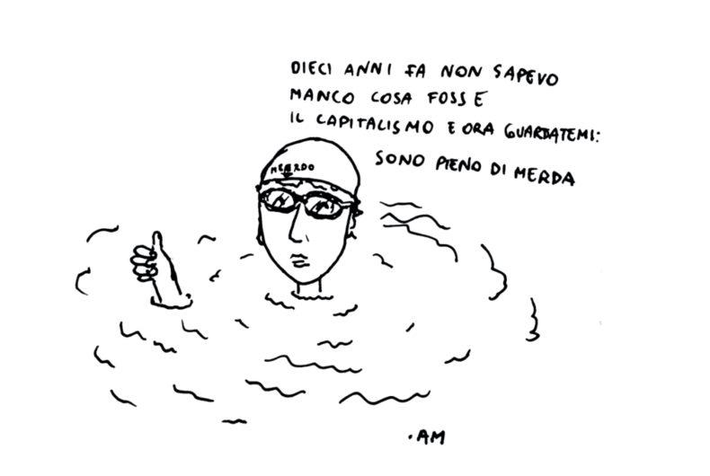 Anna Magni's Disegnini, simple and ironic