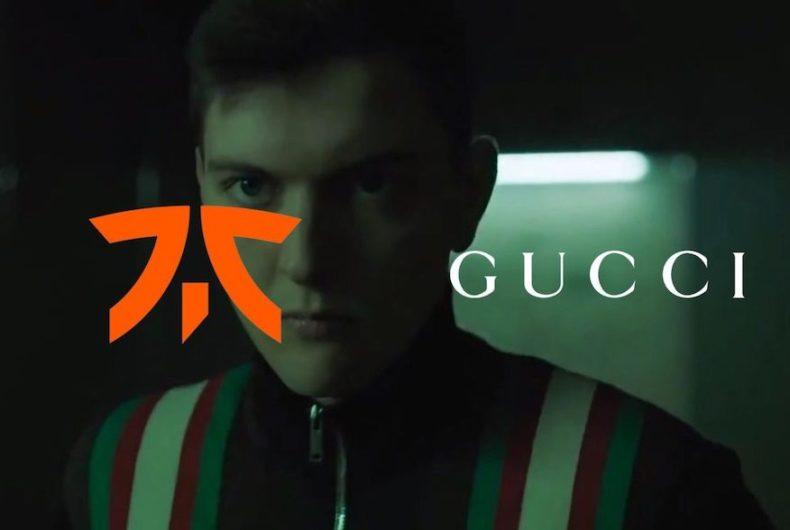 Moda e eSports, Fnatic x Gucci