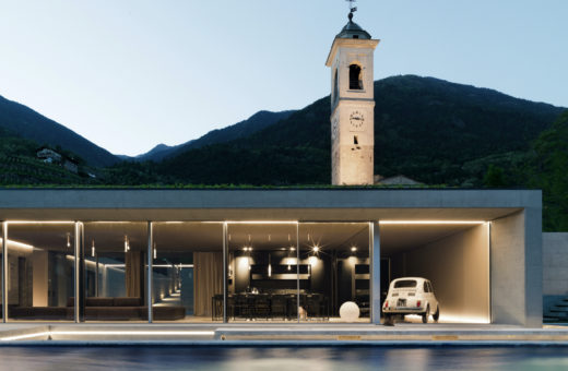 G House, a dream house in northern Italy
