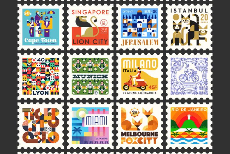 I francobolli illustrati di Makers Company