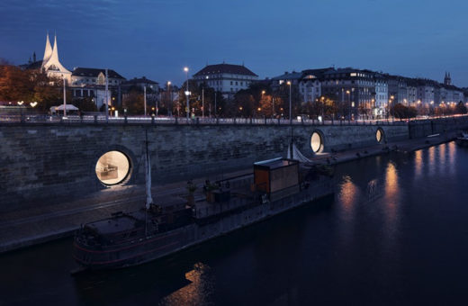 Prague's new riverfront designed by Brainwork