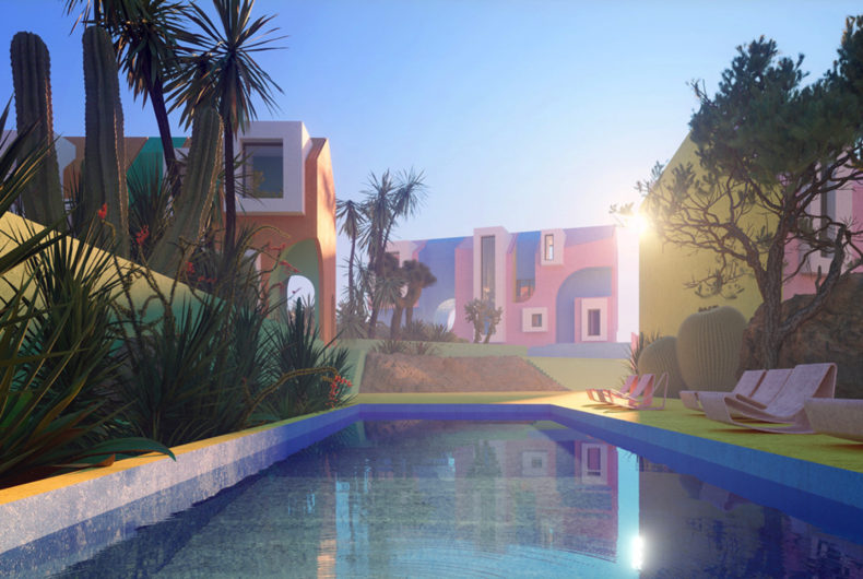Sonora Art Village, an oasis between dream and reality