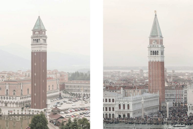 Venice Syndrome, the photographic project by François Prost