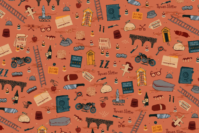 Dan Lehman turns Wes Anderson's films into patterns