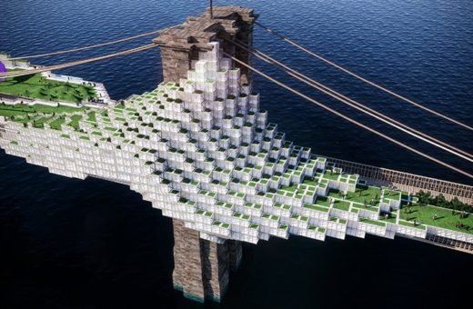 Il progetto di Daniel Gillen per un nuovo Brooklyn Bridge