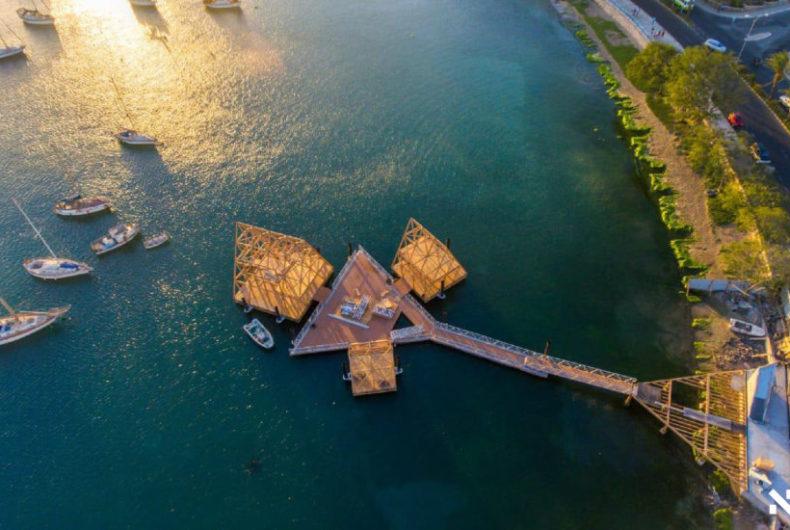 Floating Music Hub, la discoteca galleggiante