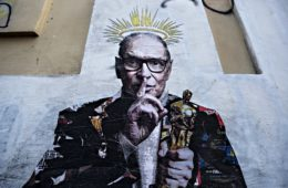 Harry Greb's mural dedicated to Ennio Morricone