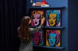 LEGO Art, ora potete costruire le vostre opere d'arte preferite