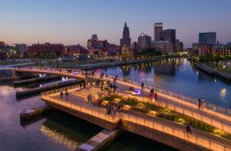 Il nuovo Providence Pedestrian Bridge