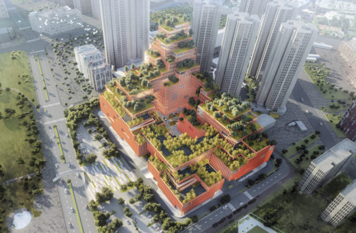 The Rehabilitation Center of Shenzhen by Stefano Boeri