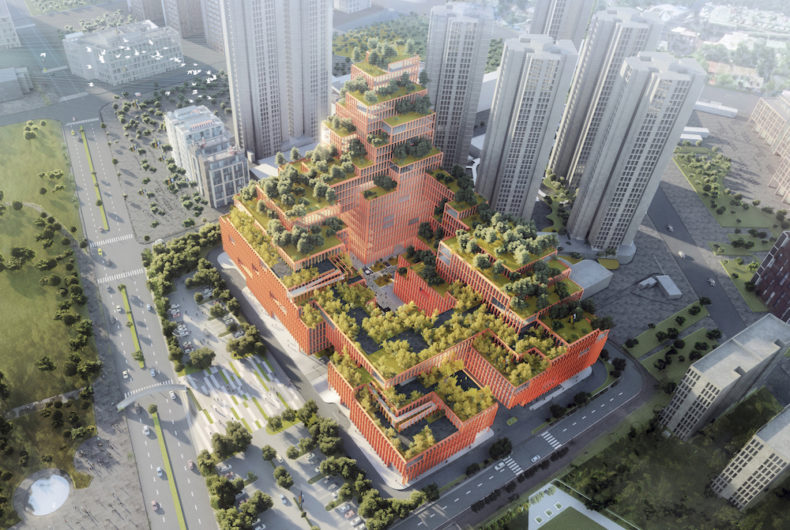 Il Rehabilitation Center di Shenzhen di Stefano Boeri