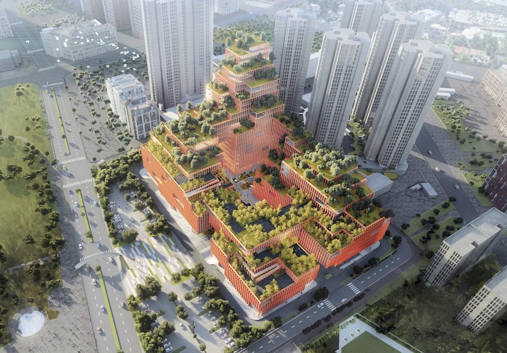 The Rehabilitation Center of Shenzhen by Stefano Boeri   Collater.al