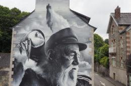 The Old Man and the Sea 2.0, il murale di Aero