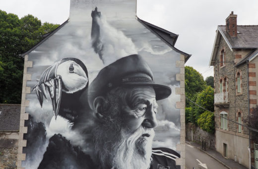 The Old Man and the Sea 2.0, il murale di Aero