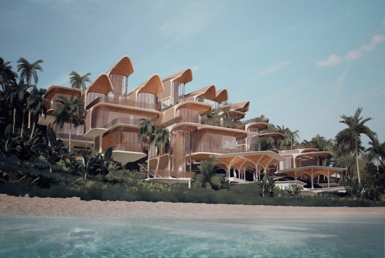 Zaha Hadid Architects designed a customizable residence