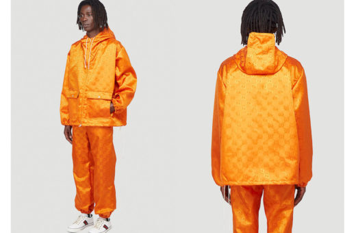 The Gucci's eco-friendly shell suits