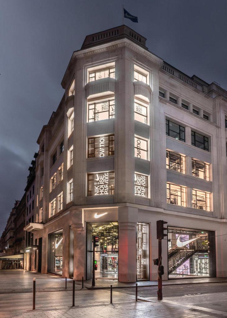 Medio interrumpir Derrotado  Nike opens the doors of the House of Innovation in Paris   Collater.al