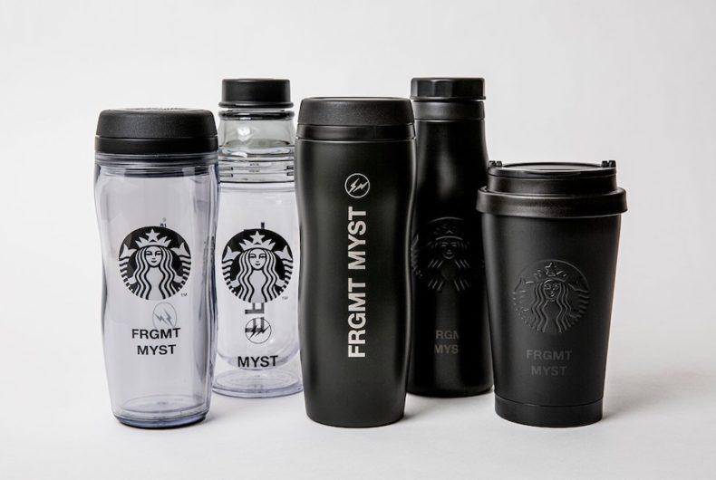 La collaborazione tra Starbucks e fragment design