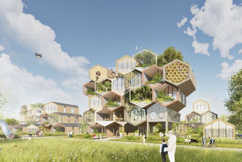 """The Hive Project"", la casa ispirata a un alveare"