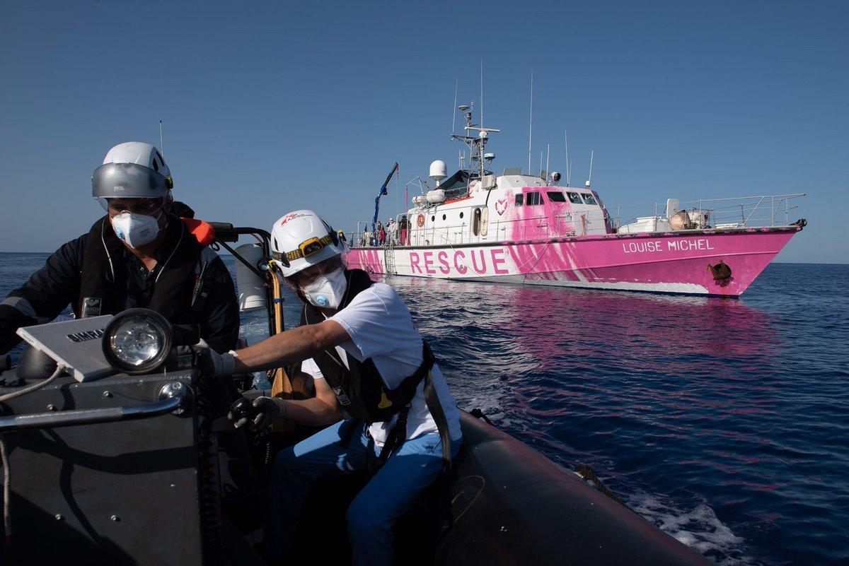 Louise Michel, la storia della nave umanitaria finanziata da Banksy | Collater.al