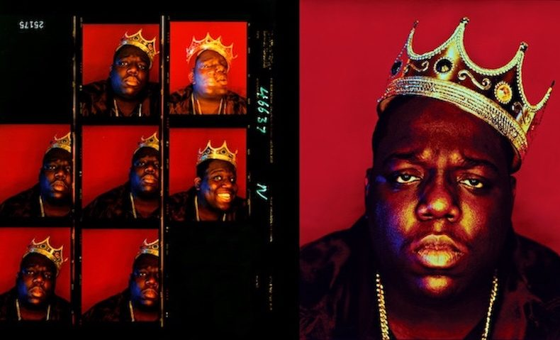 The famous crown of Notorious B.I.G. will go to auction