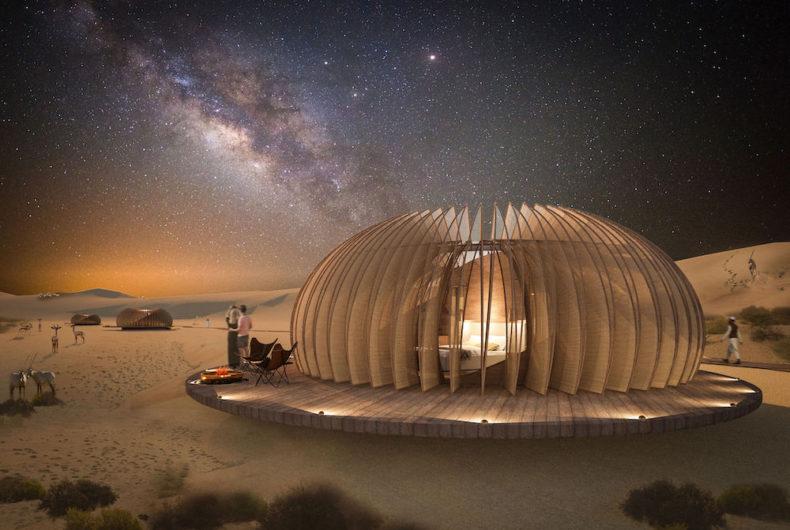 Oculus, il complesso alberghiero nel cuore del deserto