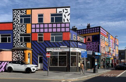 Walala Parade, il murale di Camille Walala a Londra