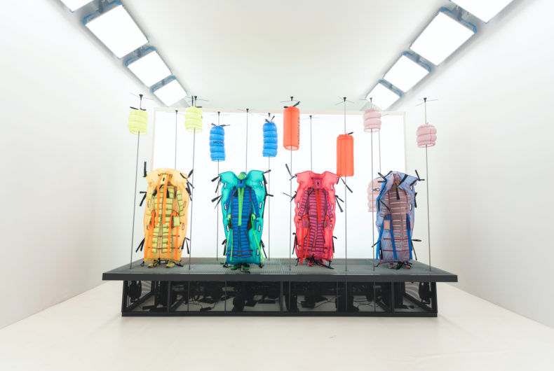 5 Moncler Craig Green, a collection that combines technology and aesthetics