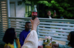 Coca-Cola's campaign on the new normality